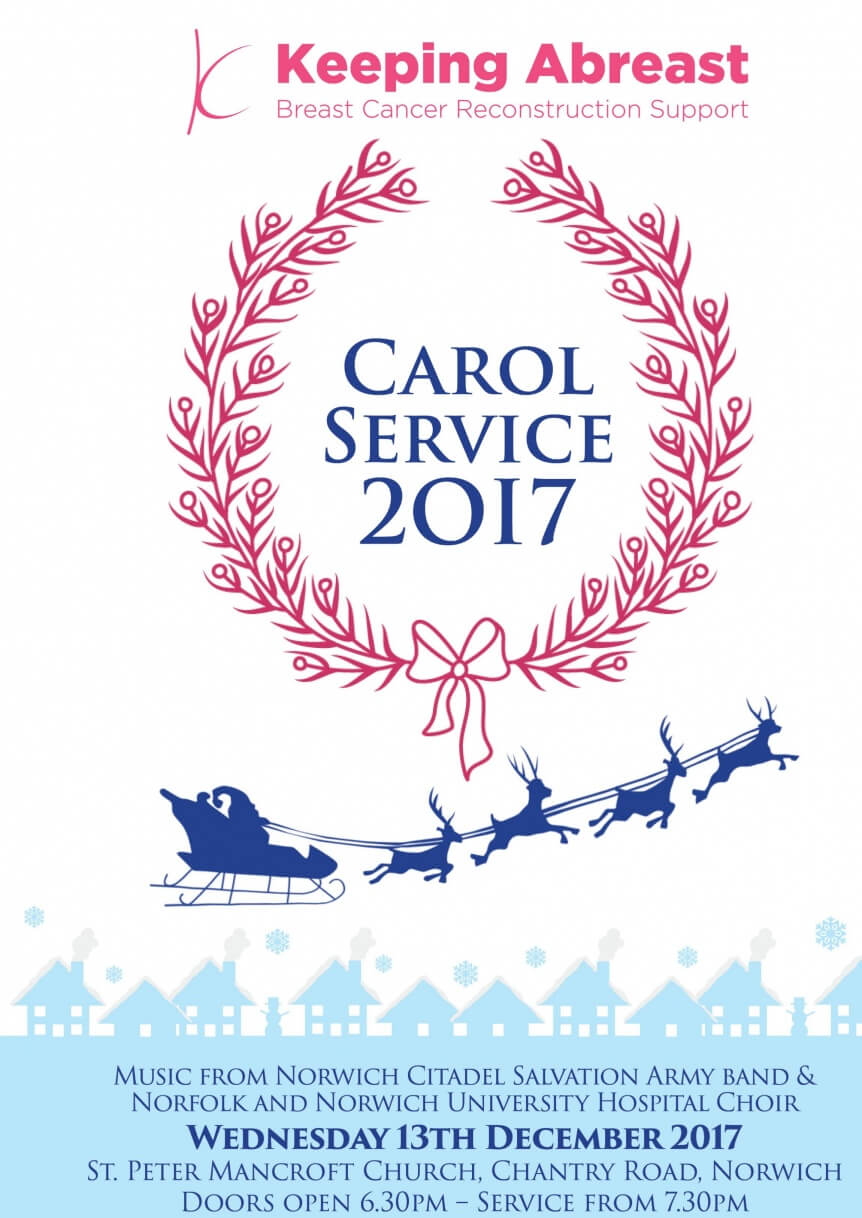 KA Carol service 2017 A5 Save the date