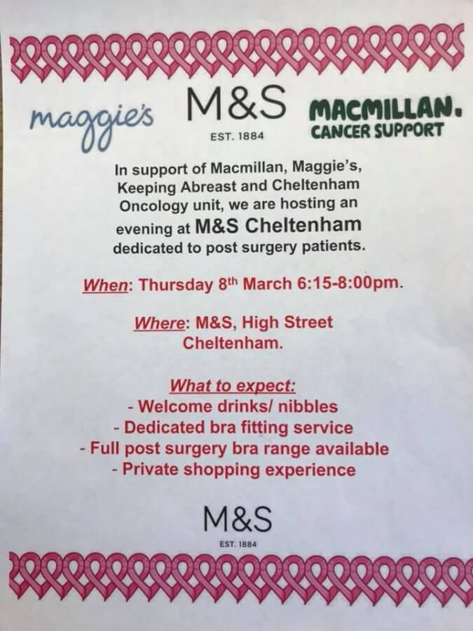 M&S cheltenham